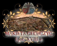 Głubczyce - makieta z I połowy XVIII w.