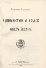 Sądownictwo w Polsce wieków średnich
