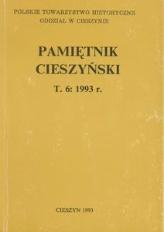 Pamiętnik Cieszyński, 1993, T. 6