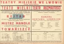 Rejtan. Dramat w 3 aktach Kazimierza Brończyka