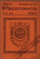 Młody Krajoznawca Śląski, 1935, R. 2, nr 10