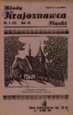 Młody Krajoznawca Śląski, 1936, R. 3, nr 1