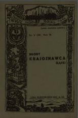 Młody Krajoznawca Śląski, 1937, R. 4, nr 3