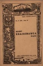 Młody Krajoznawca Śląski, 1937, R. 4, nr 5