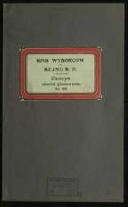 Wybory do Sejmu i Senatu RP 1935 r. – spis wyborców w miejscowości Cieszyn, obwód głosowania nr 69