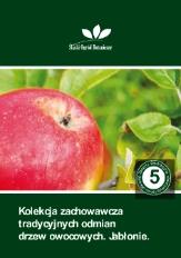 Kolekcja zachowawcza tradycyjnych odmian drzew owocowych. Jabłonie