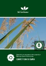 Przewodnik do oznaczania roślin pospolitych Śląskiego Ogrodu Botanicznego. Cz. 3. Lato