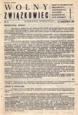 Wolny Związkowiec, 1980, nr 14