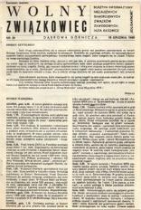Wolny Związkowiec, 1980, nr 30