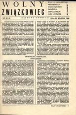 Wolny Związkowiec, 1980, nr 32/33