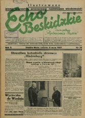 Echo Beskidzkie, 1937, Nry 36-100
