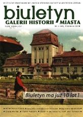 Biuletyn Galerii Historii Miasta, 2016, nr 2 (40)