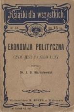 Ekonomja polityczna : czym jest i czego uczy