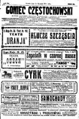 Goniec Częstochowski, 1914, R. 9, No 13