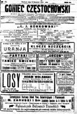 Goniec Częstochowski, 1914, R. 9, No 25