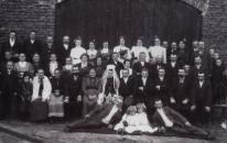 Bednarówka. Fotografia weselna, początek XX w.