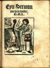 Eyn Sermon von dem Wucher / D. M. L. [krypt., właśc. Martin Luther]