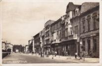 Dziedzitz, Bahnhof strasse 06.05.1942 r