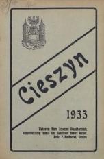 Cieszyn 1933. Dzieje miasta