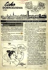 Echo Dobrodzienia i Okolic : pismo samorządu i mieszkańców miasta i gminy Dobrodzień 1993, nr 3.