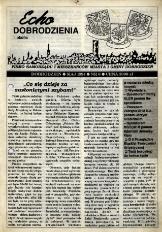 Echo Dobrodzienia i Okolic : pismo samorządu i mieszkańców miasta i gminy Dobrodzień 1994, nr 6.