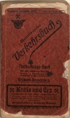 Oberschlesisches Verkehrsbuch. Sommer 1927