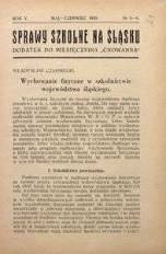 Sprawy szkolne na Śląsku, 1939, R. 5, nr 5/6