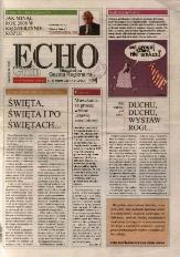 Echo Gmin : tygodnik regionalny 2009, nr 1-2 (574).