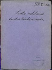 Scuta nobilium Ducatus Teschinensis