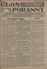 Głos Poranny, 1922, R. 1, nr 95