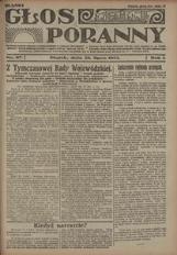 Głos Poranny, 1922, R. 1, nr 97