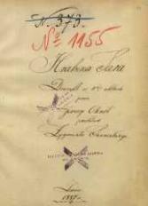 Hrabina Sara. Dramat w 5ciu aktach przez Jerzego Ohnet, przekład Zygmunta Sarneckiego. Lwów 1887