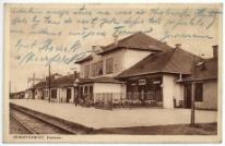 Zebrzydowice. Dworzec