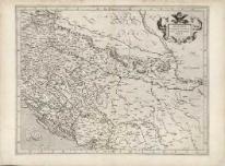 Sclavonia, Croatio, Bosnia Cvm Dalmatiae Parte