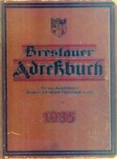 Breslauer Adreßbuch 1935