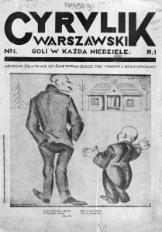 Cyrulik Warszawski, 1926, R. 1, nr 1
