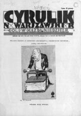 Cyrulik Warszawski, 1928, R. 3, nr 41