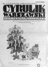 Cyrulik Warszawski, 1933, R. 8, nr 51