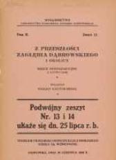 Z przeszłości Zagłębia Dąbrowskiego i okolicy, 1932, T. 2, z. 12