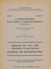 Z przeszłości Zagłębia Dąbrowskiego i okolicy, 1932, T. 2, z. 18