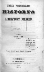 Historya literatury polskiej. T.8