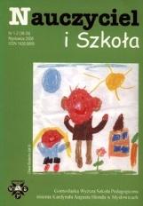 Nauczyciel i Szkoła, 2008, nr 1-2