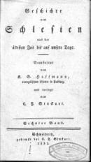 Geschichte von Schlesien aus der altesten Zeit bis auf unsere Tage T.6