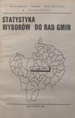 Statystyka wyborów do Rad Gmin. 27 maja 1990 r.