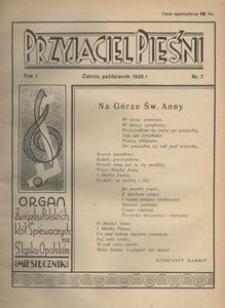 Przyjaciel Pieśni, 1936, R. 1, nr 7