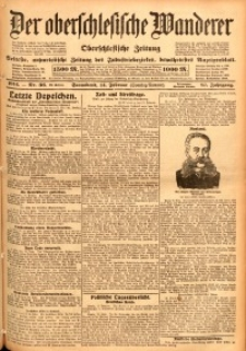 Der Oberschlesische Wanderer, 1914, Jg. 87, nr36