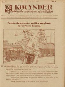 Kocynder, 1922, R. 3, nr 5