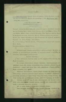 Protokoły posiedzeń Komisji administracyjnej miasta Cieszyna z 1920 roku