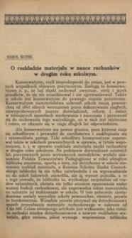 Miesięcznik Pedagogiczny, 1922, R. 31, nr 6/7