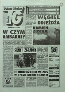Trybuna Górnicza, 1995, nr11